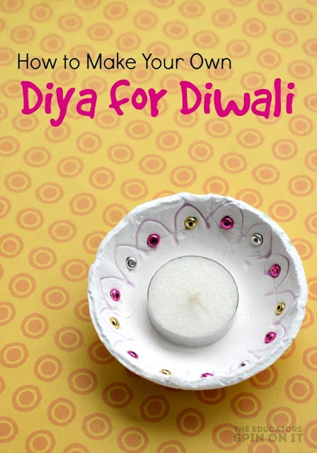 How to Make Your Own Diyas for Diwali