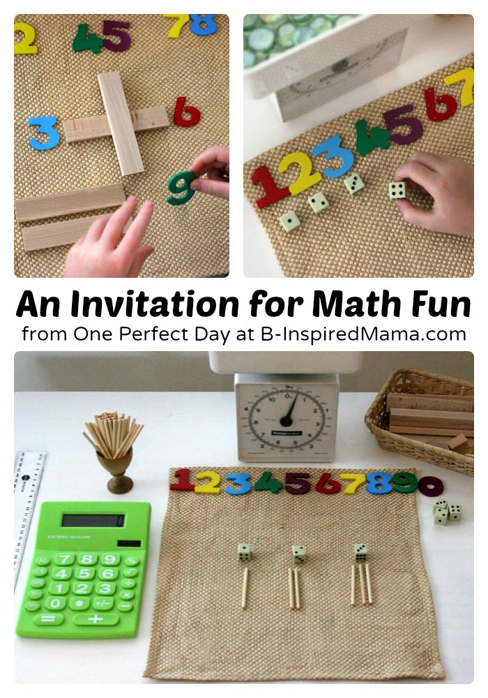 Integrating technology into preschool learning stations for math