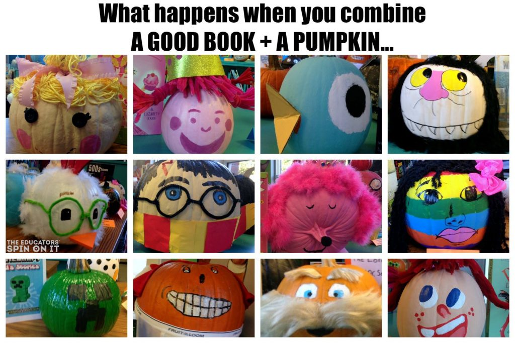 Literacy Pumpkin Ideas for Halloween