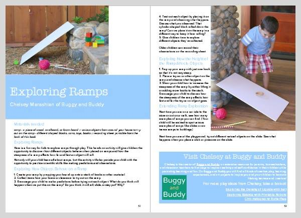 Sample science lesson plan for exploring ramps