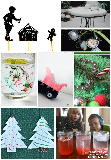 7 Fun & Easy Science Experiments for Christmas to make and do with your kids. Chrismas science. Science experiements for kids. Christmas activities.
