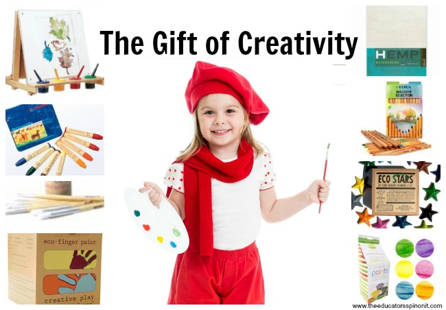 Give the gift of creativity: Creative gift ideas for 5 year old child.
