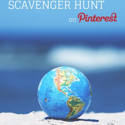 Scavenger Hunt on Pinterest: Raising a Global Kid