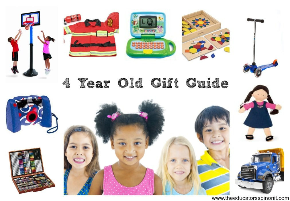Four Year Old Gift Guide