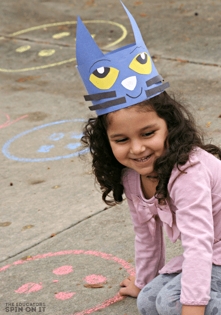 pete the cat movement game with buttons