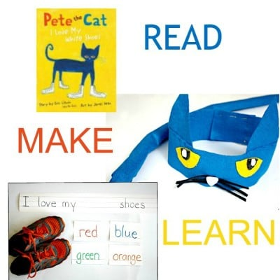 Inspired by Pete the Cat Costume Headband.
