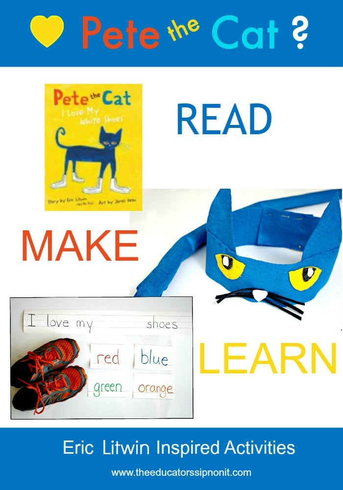Read, Make, and Learn with Pete the Cat