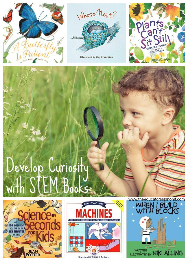 Spring STEM Books for Kids