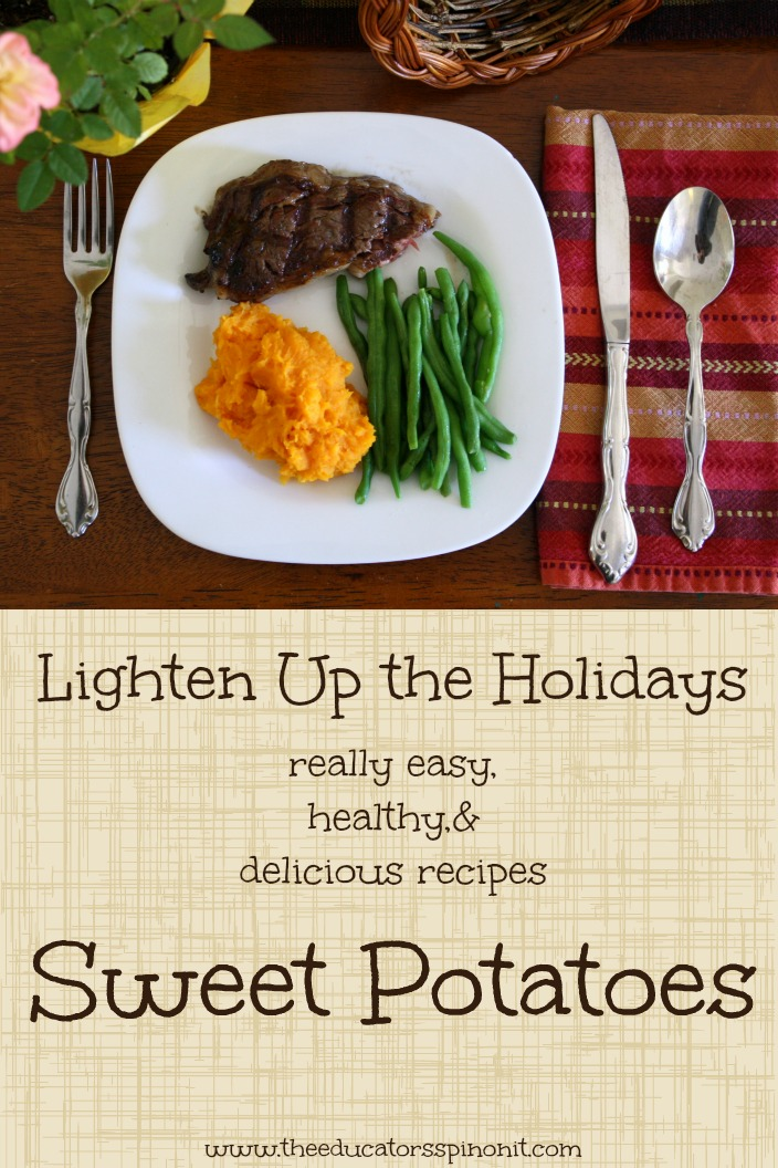 Quick and Easy Sweet Potatoes: A Kids Cooking Lesson #SundaySupper