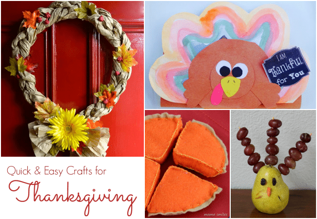 Quick And Easy Thanksgiving Crafts The Educators 39 Spin On It