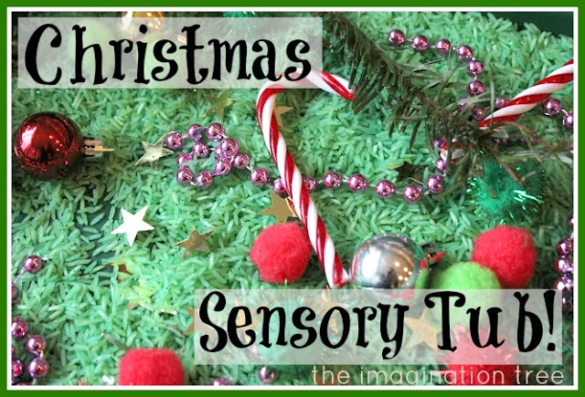 Christmas Science Experiment: Build a Sensory Tub for the 5 Senses
