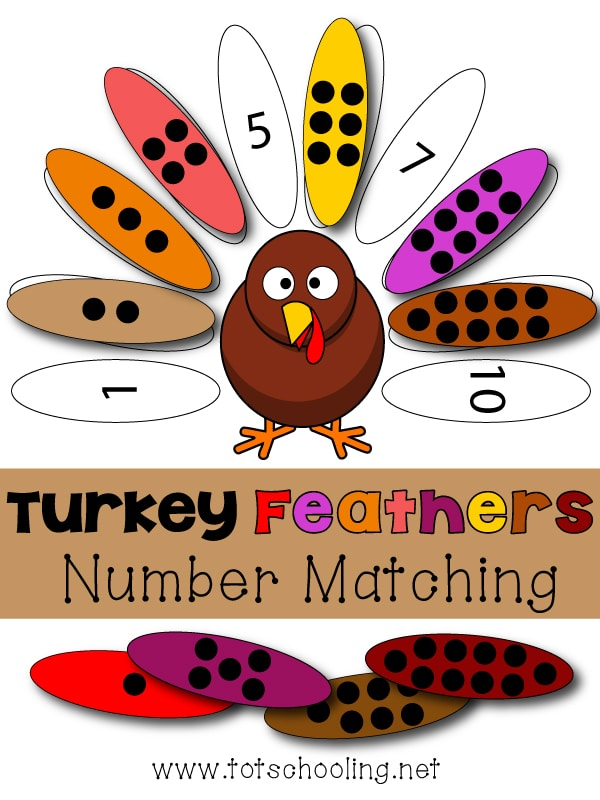 Turkey Number Matching Game