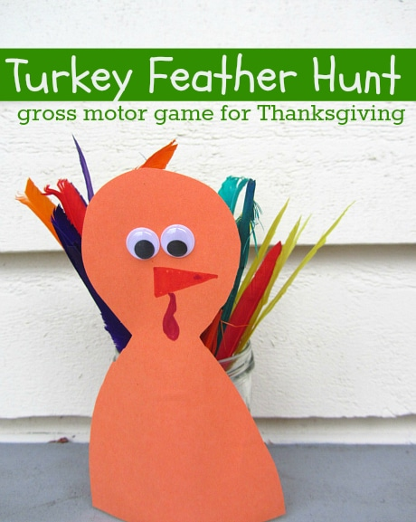 Turkey activities for preschool learning and play the for Gross motor games for preschoolers