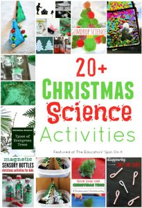 20 Christmas Science Activities for Kids