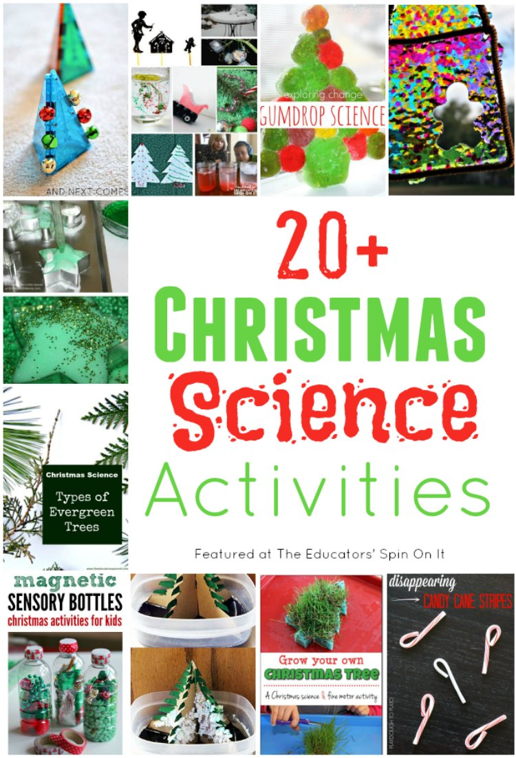 20+ Christmas Science Activities for kids
