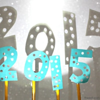2015 New Year's Activities for Kids