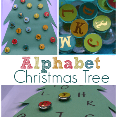 Alphabet Christmas Tree Activity