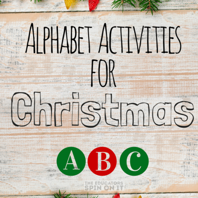 Alphabet Activities for Christmas