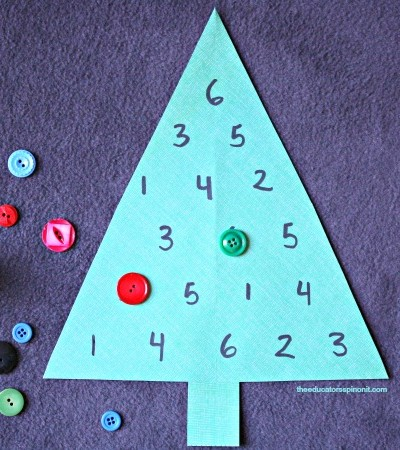 Fun Math Games with Christmas Trees!