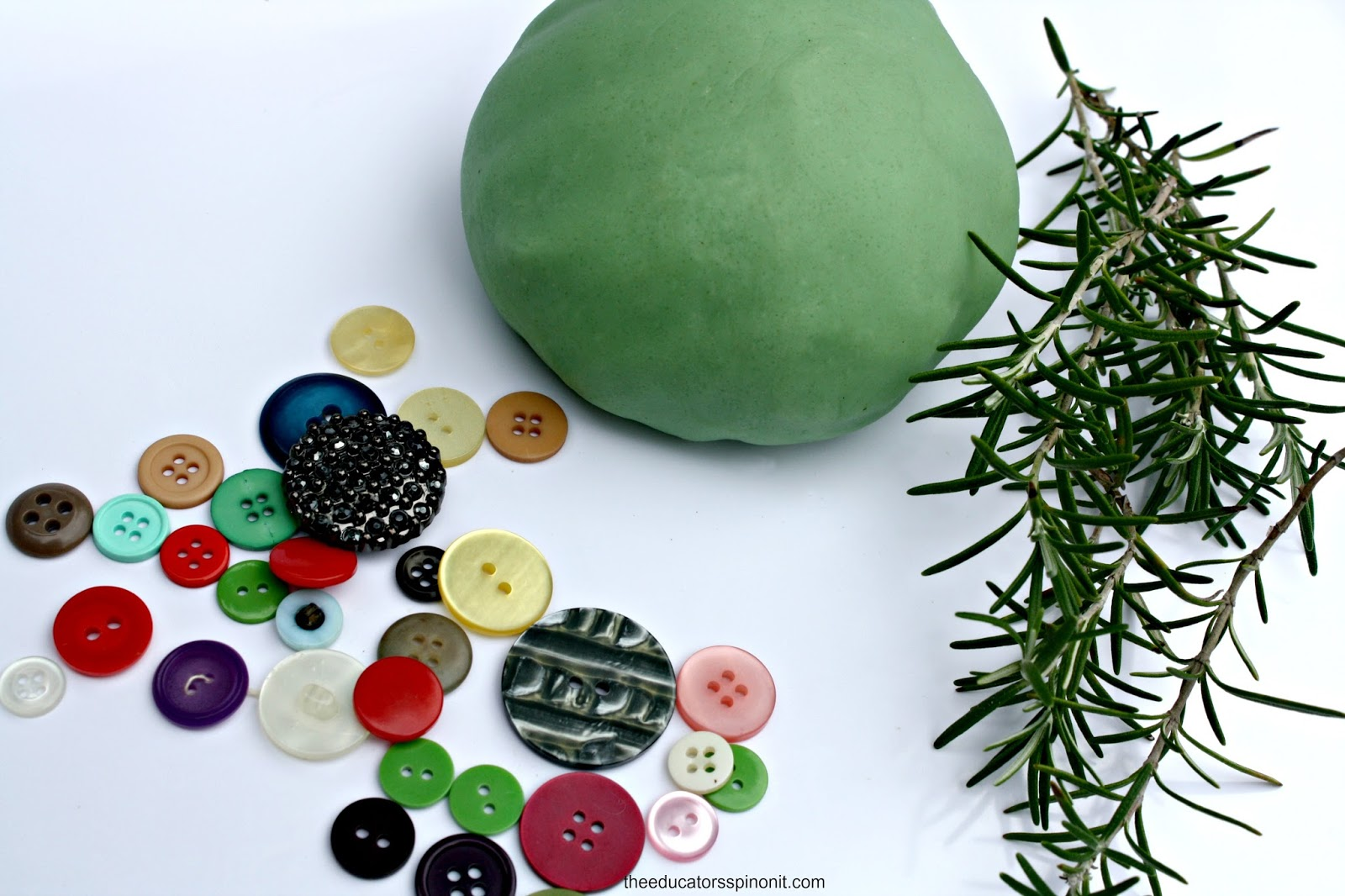 Open Ended Playdough Christmas Tree Crafts for Kids: Art Exploration