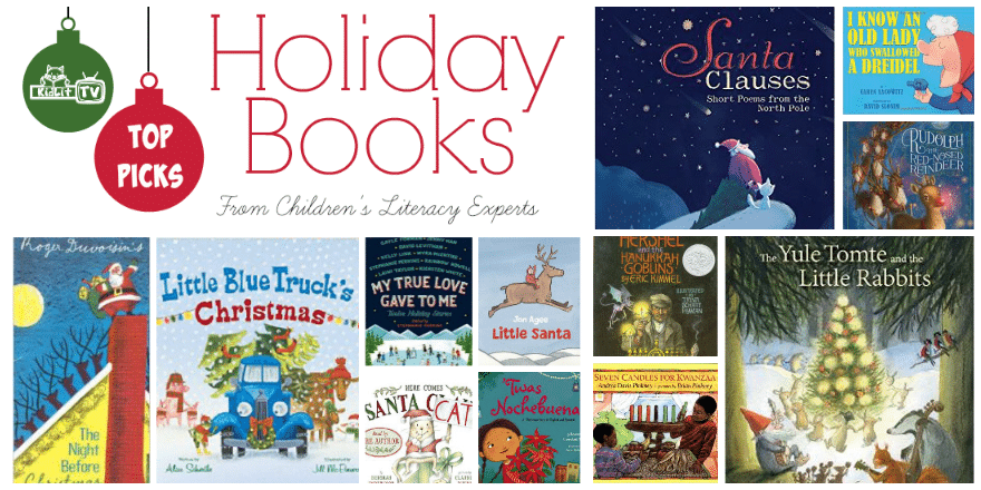 Top Holiday Books for 2014 featured at KidLit tV Holiday Special