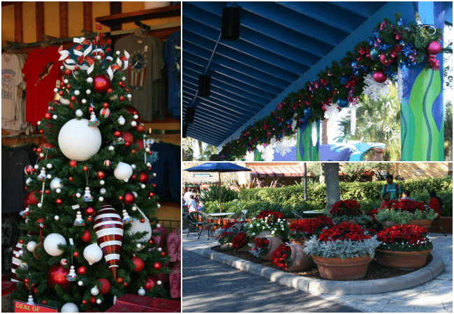 SeaWorld's Christmas Celebration Decorations A must-see experience for the holiday season!