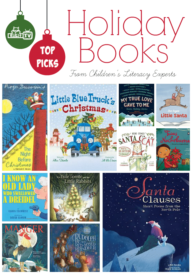 Top Holiday Books for 2014 featured at KidLitTV Holiday Special