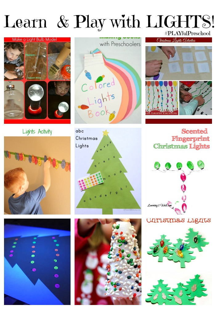 Learn and Play with Light Theme Activities for Preschool