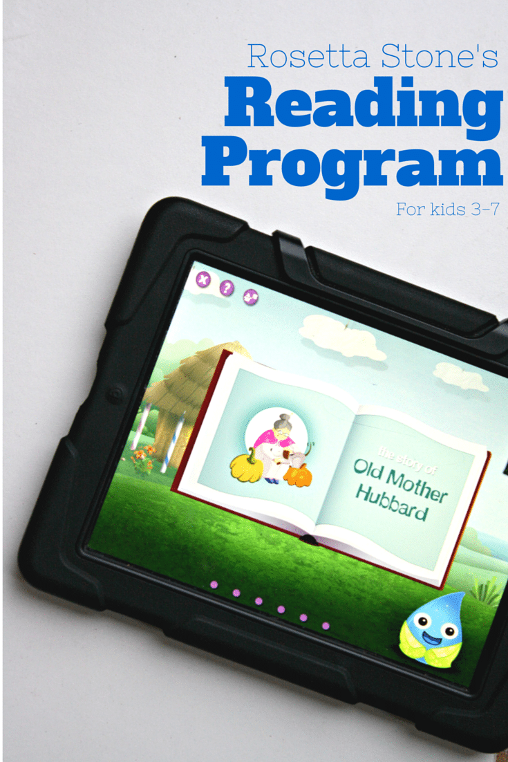 Rosetta Stone Kids Reading Program #RSKids #Sponsored #MC
