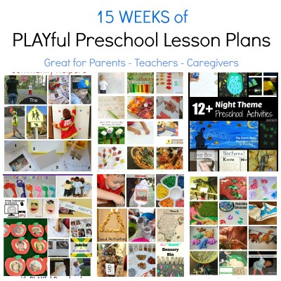 Free Preschool Thematic Lesson Plans #PLAYfulpreschool