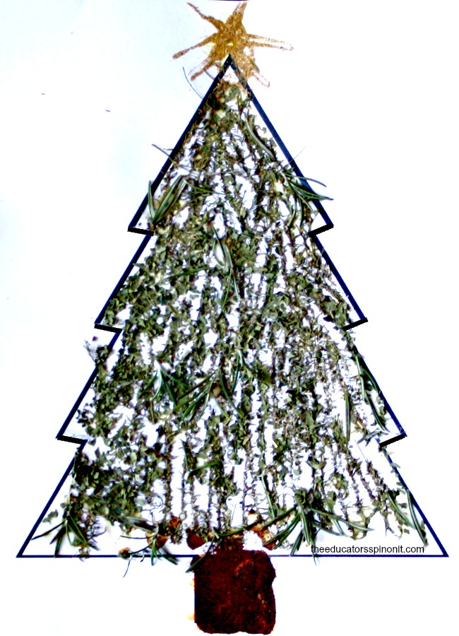 Christmas Craft Idea: Sensory Trees