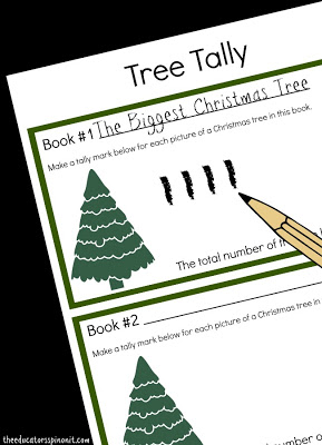Teaching Tally Charts with Holiday Books