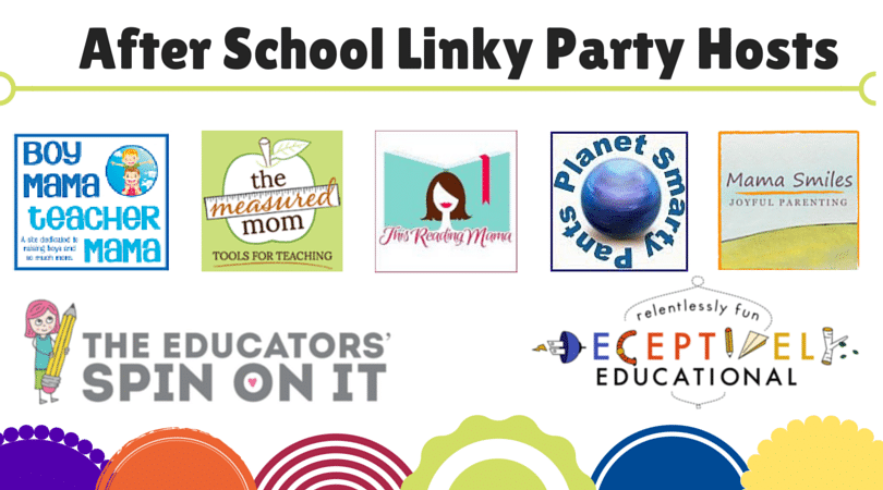 6 Blogs sharing Activities for School Ages each week at the After School Linky Party. Join Us!