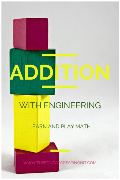 Math Addition Towers