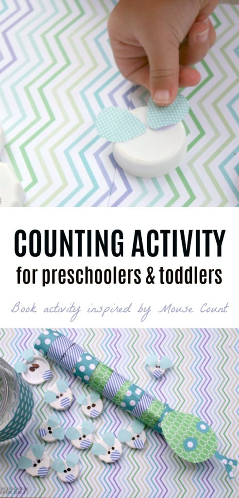 Counting Mice Book Activity inspired by Mouse Count.