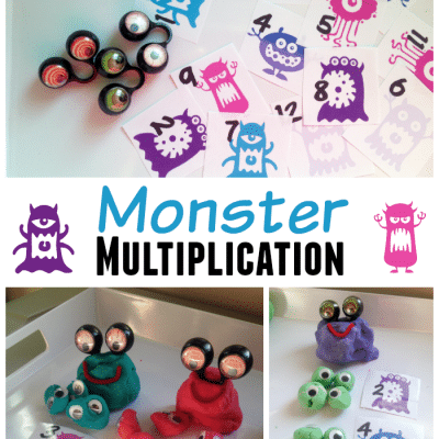 Monster Math Games for School Ages