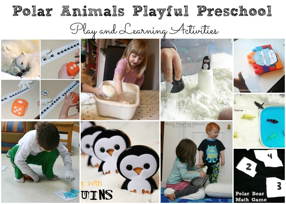 Polar Animal Activities for Preschool