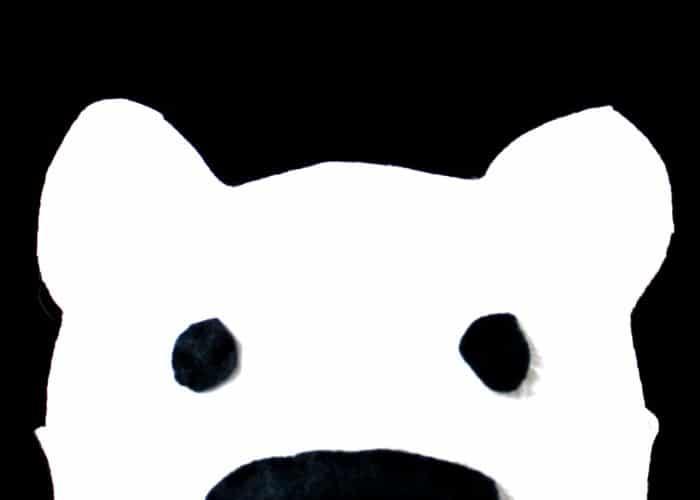 Polar Bear Costume Headband for Kids