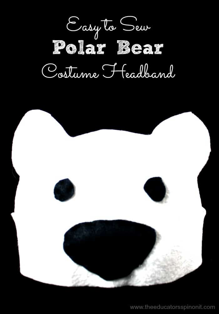 Polar Bear Headband Tutorial for Kids