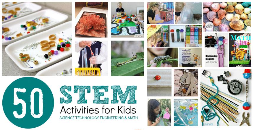 50 Hands On Stem Activities For Kids