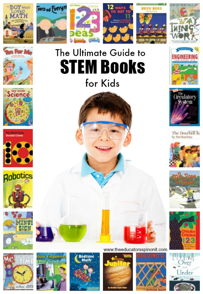 The Ultimate Guide to STEM Books for Kids