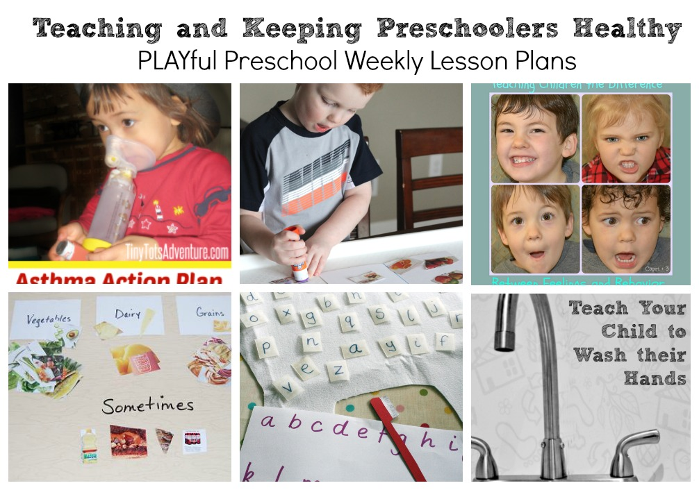 Tips and Tricks for teaching and keeping preschoolers healthy