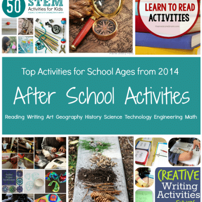 Top Activities from the After School Team in 2014