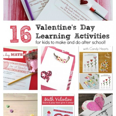 Valentine's Day Learning Activities For Kids to Make and Do