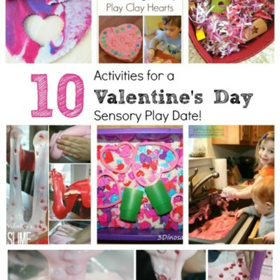 Valentine's Day Sensory Activities for Kids