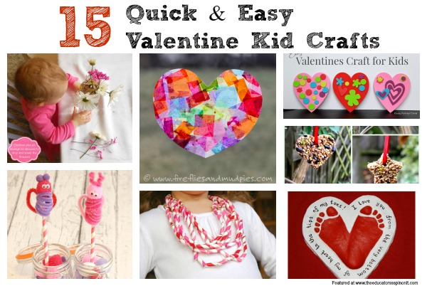 easy valentine s day crafts for kids   the educators spin on it