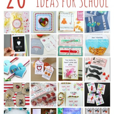 20 Adorable Homemade Valentines for Classmates