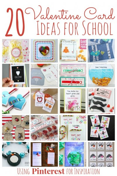 Create 20 adorable homemade Valentines for kids to bring to their classmates, all inspired by Pinterest. One of a kind Valentines your child can make.