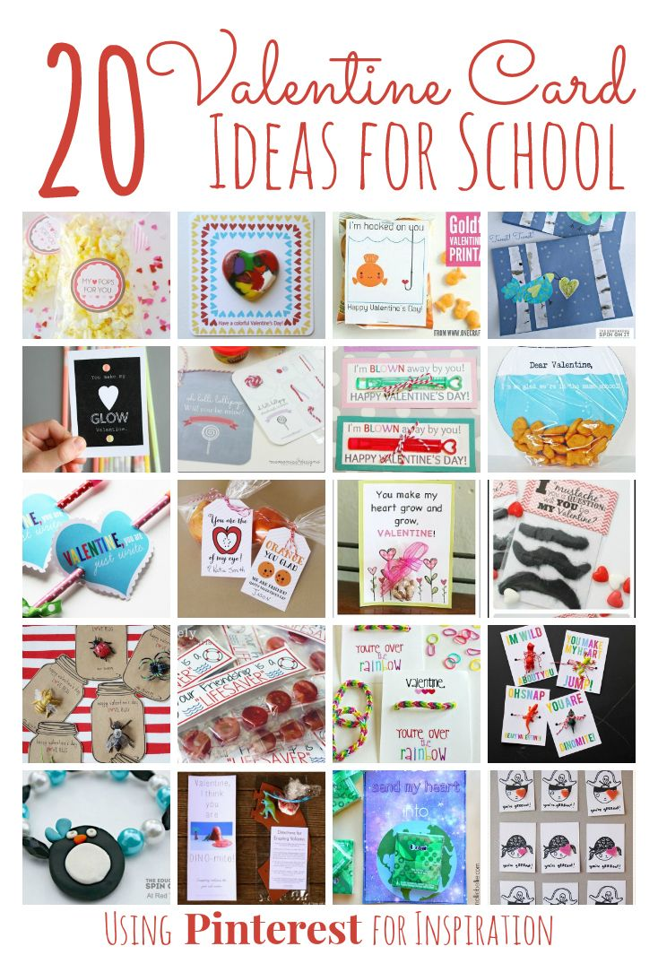 20 Valentineu0027s Day Card Ideas For School Inspired By Pinterest