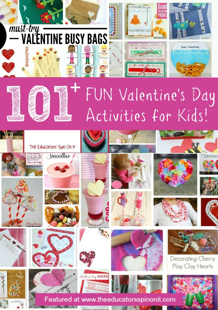 101 Valentine's Day Activities for Kids